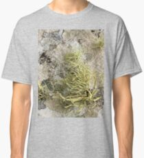 Lichen on tomb in Shalwy Valley, Kilcar, Donegal Classic T-Shirt