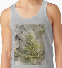 Lichen on tomb in Shalwy Valley, Kilcar, Donegal Men's Tank Top