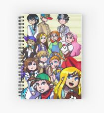 Harvest Moon Mineral Town Spiral Notebook