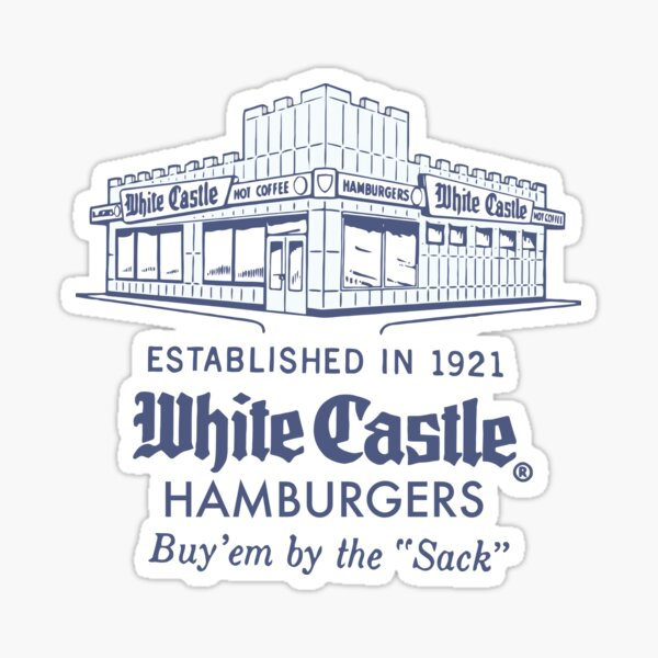 WHITE CASTLE Sticker