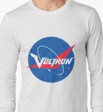 Voltron Nasa Logo Long Sleeve T-Shirt