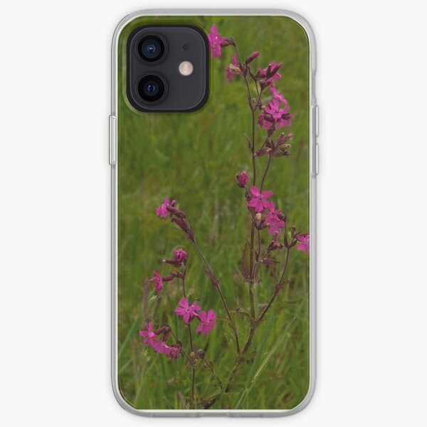 Red Campion in Burntollet Woods iPhone Soft Case
