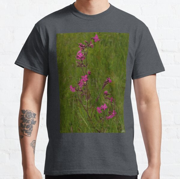 Red Campion in Burntollet Woods Classic T-Shirt