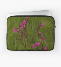 Red Campion in Burntollet Woods Laptop Sleeve