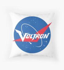 Voltron Nasa Logo Throw Pillow