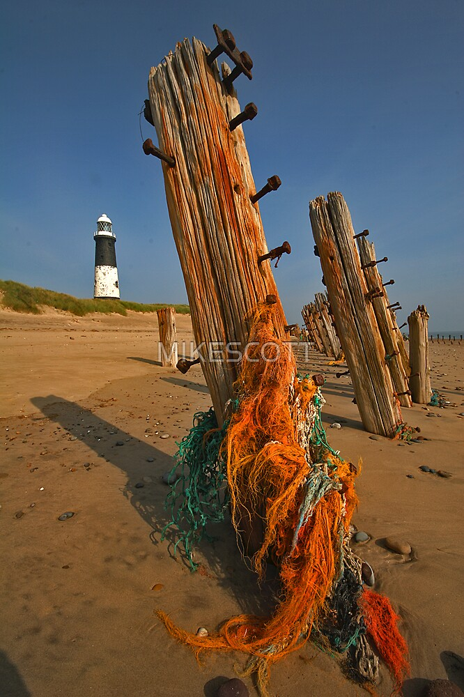 FORGOTTEN NETS AT SPURN POINT by MIKESCOTT