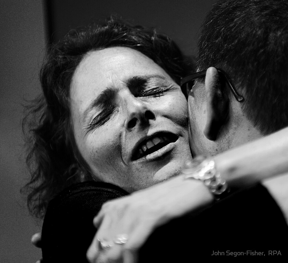 Hug by John Segon-Fisher,  RPA