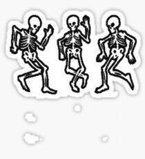 Skeletons Sticker