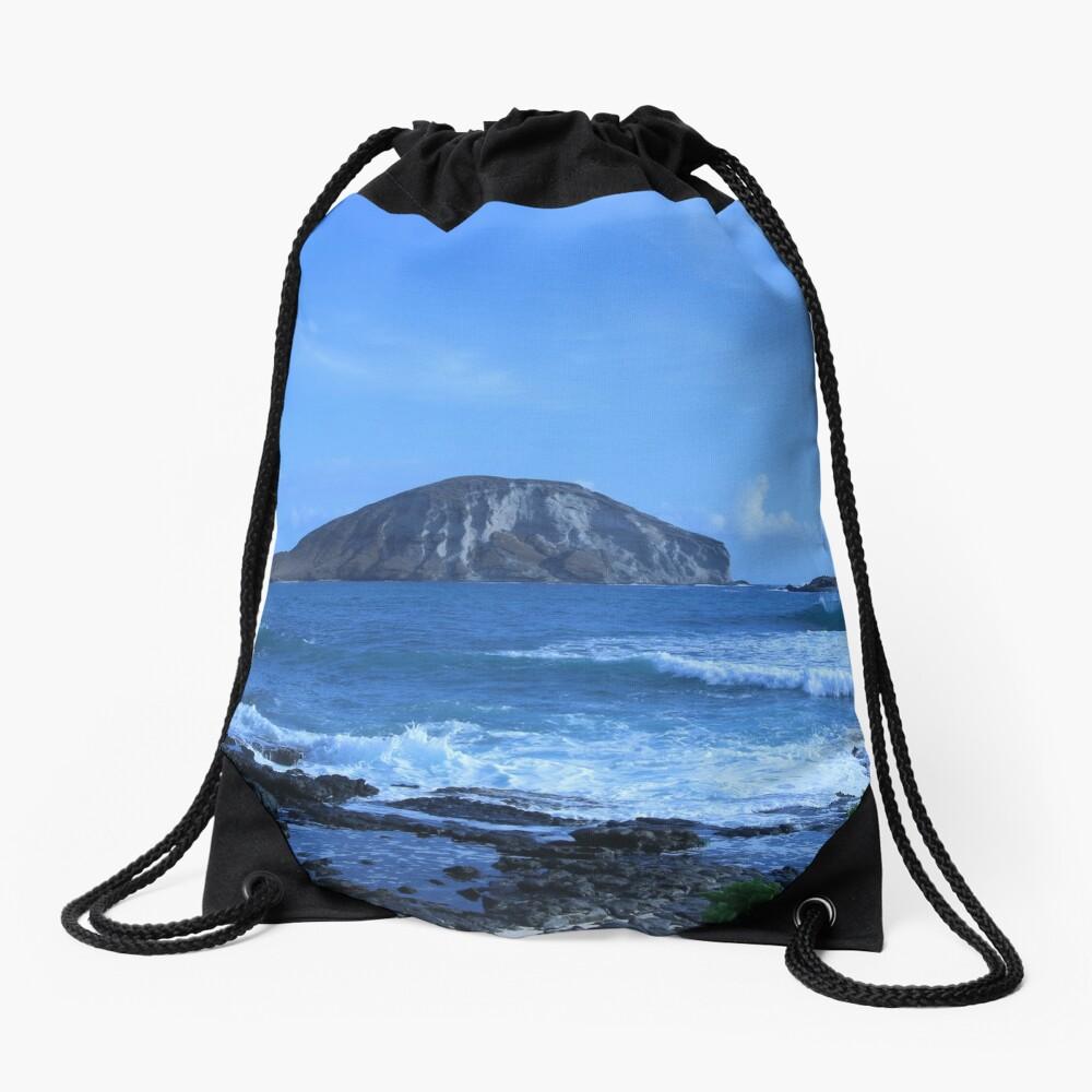 Island Life Drawstring Bag