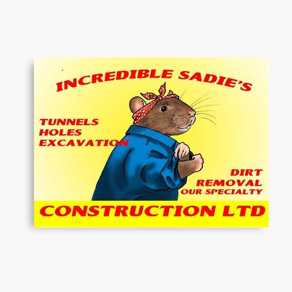 Incredible Sadie's Construction LTD Canvas Print