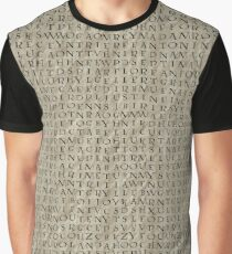d3dd1ce1b Word Search: Witches and Wizards Graphic T-Shirt