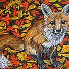 Autumn Fox by Rachelle Dyer