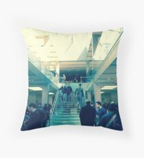 Kawsaki - Apple Store, Chicago Throw Pillow
