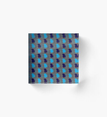 Buffalo Spirit Acrylic Block