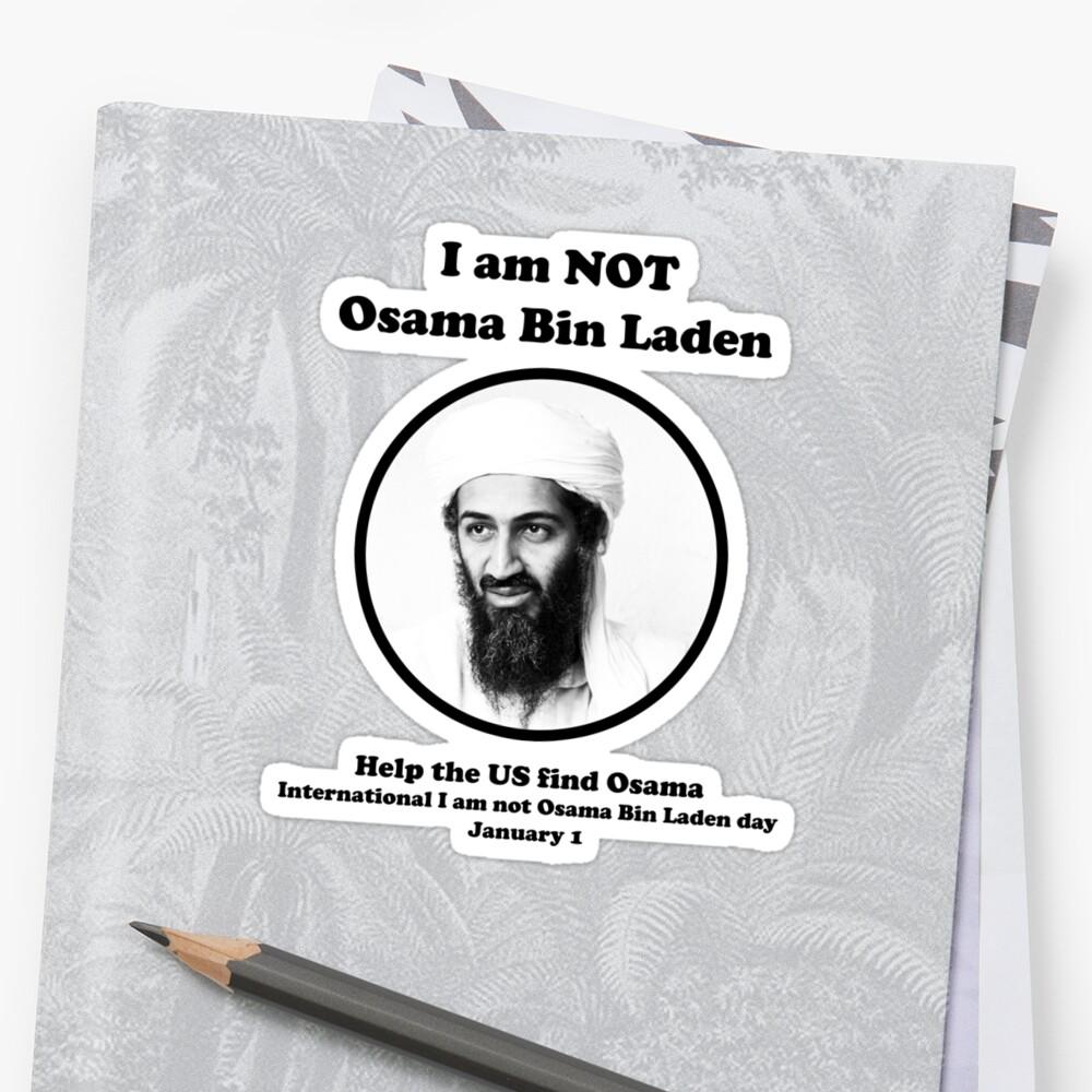 I am not Osama Bin Laden by Ben Ryan