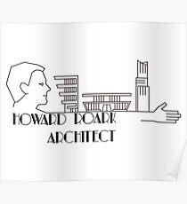 Howard Roark, Architect Poster