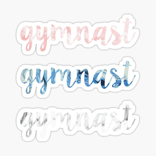Gymnast Sticker