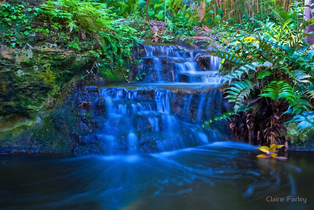 Waterfall 3 by Claire  Farley