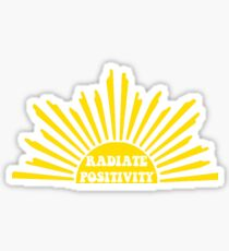 Radiate Positivity - Style 3 Sticker