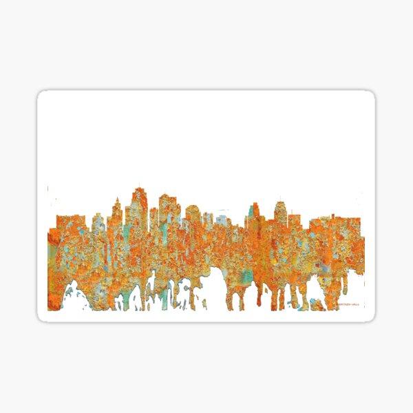 Kansas City, Missouri - Rust Sticker