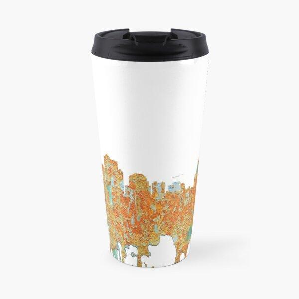 Kansas City, Missouri - Rust Travel Mug