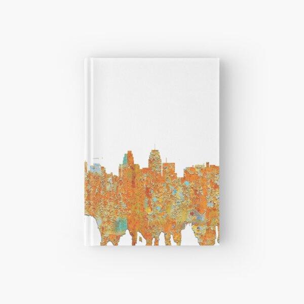 Kansas City, Missouri - Rust Hardcover Journal