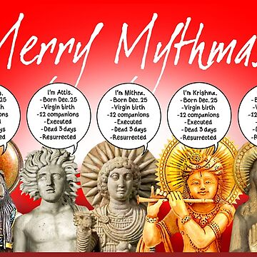 MERRY MYTHMAS! by atheistcards