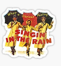 Singin' In the Rain Poster  Sticker