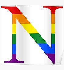 Rainbow N Poster