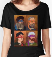 The Renaissance Ninja Artists Women's Relaxed Fit T-Shirt