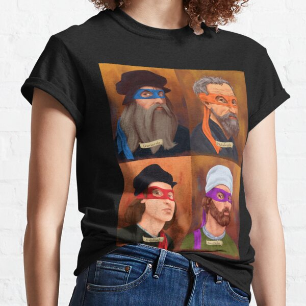 The Renaissance Ninja Artists Classic T-Shirt