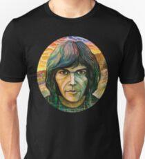 Camiseta unisex Autorretrato de Neil Young