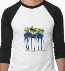 Frogs - Meet the Robinsons Men's Baseball ¾ T-Shirt