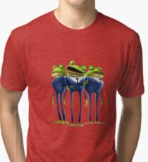 Frogs - Meet the Robinsons Tri-blend T-Shirt