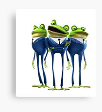 Frogs - Meet the Robinsons Canvas Print