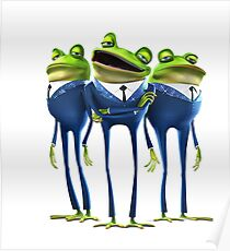 Frogs - Meet the Robinsons Poster