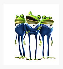 Frogs - Meet the Robinsons Photographic Print