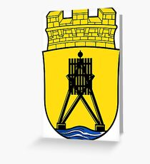Cuxhaven Coat of Arms, Germany Greeting Card