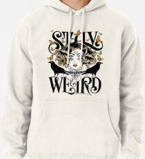 Sudadera con capucha Rose and The Ravens {Stay Weird} Versión en color