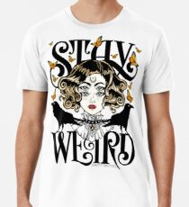 Rose und die Ravens {Bleib Weird} Color Version Männer Premium T-Shirts