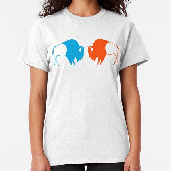 Orange Blue Buffalo Nation Classic T-Shirt