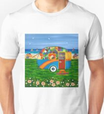 Caravan Holiday ~ Bobby-Ray Unisex T-Shirt