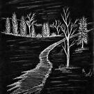 In The Woods Negative by Scott Hawkins