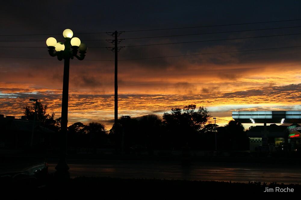 Glowing Sky by Jim Roche