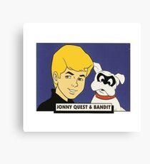 Jonny Quest Canvas Print