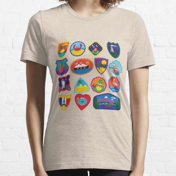 Travel Patches Essential T-Shirt