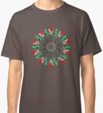 Electric Guitar Holiday Wreath Classic T-Shirt