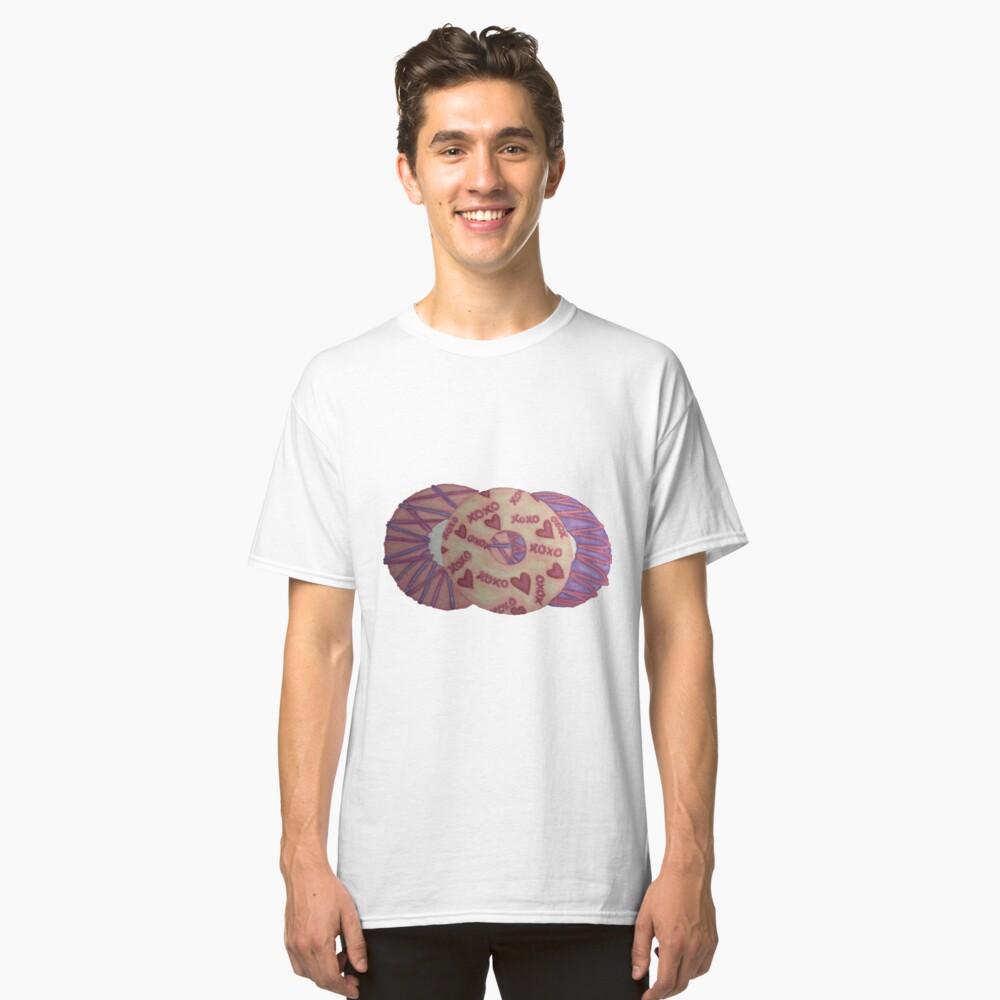 Valentinsgrüße Donut Classic T-Shirt