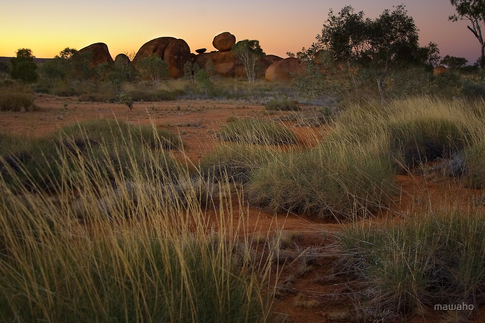 Devils Marbles by mawaho