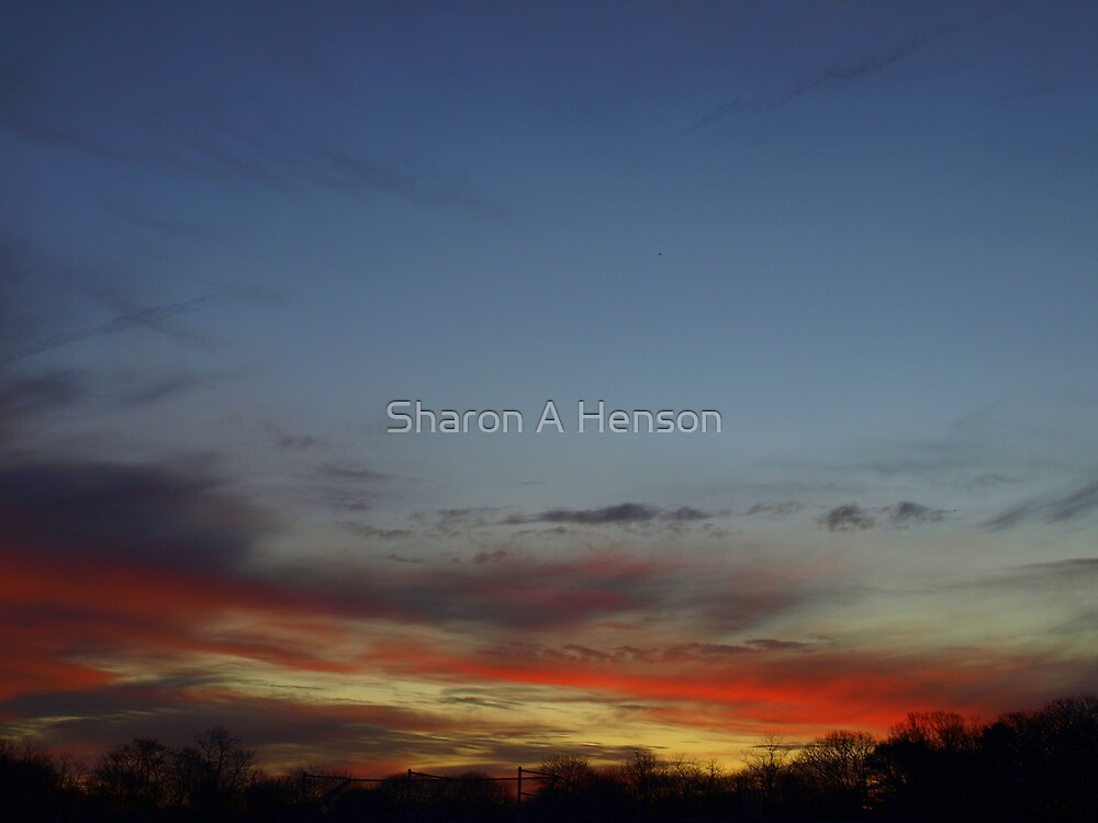 BEAUTIFUL ENDING TO A DAY by Sharon A. Henson